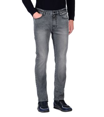 ZEGNA SPORT: 5-pockets Pants Steel grey - 42306135EV
