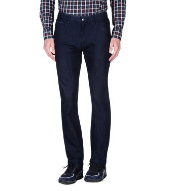 ZEGNA SPORT: 5-pockets Trousers Black - 42309476VR