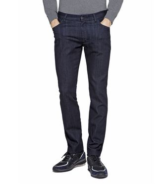 ZEGNA SPORT: 5-pockets Trousers Blue - 42313339UE