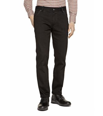 ZEGNA SPORT: 5-pockets Trousers Dark brown - 42313341XS