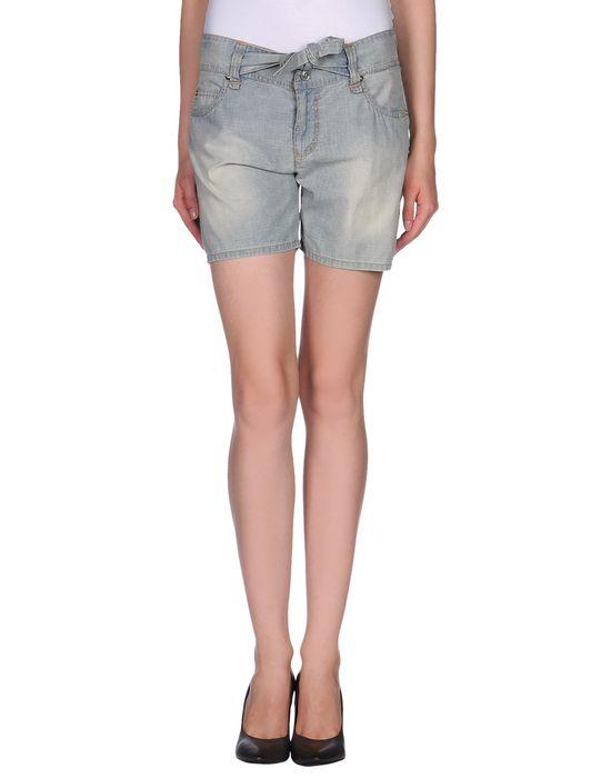цена  GALLIANO Джинсовые шорты  онлайн в 2017 году