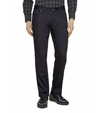 ZEGNA SPORT: Denim Black - 42321467SG