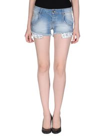 MAISON CLOCHARD - Denim shorts