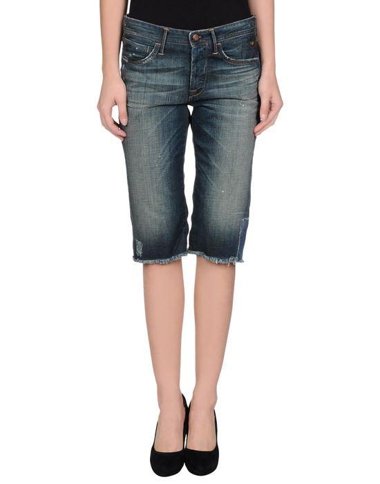 Джинсовые брюки-капри COAST,WEBER & AHAUS. Цвет: синий