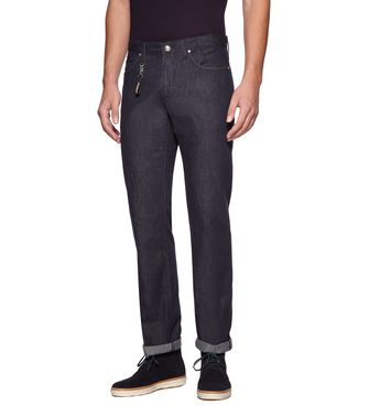 ERMENEGILDO ZEGNA: Denim Black - 42331740LN