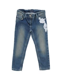 Denim trousers - BLUMARINE BABY EUR 60.00