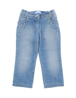 Denim trousers - BLUMARINE BABY EUR 68.00