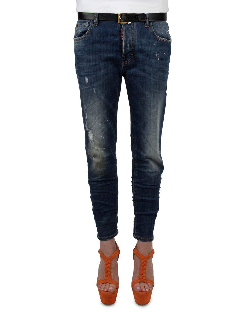 linda jeans denim Woman Dsquared2