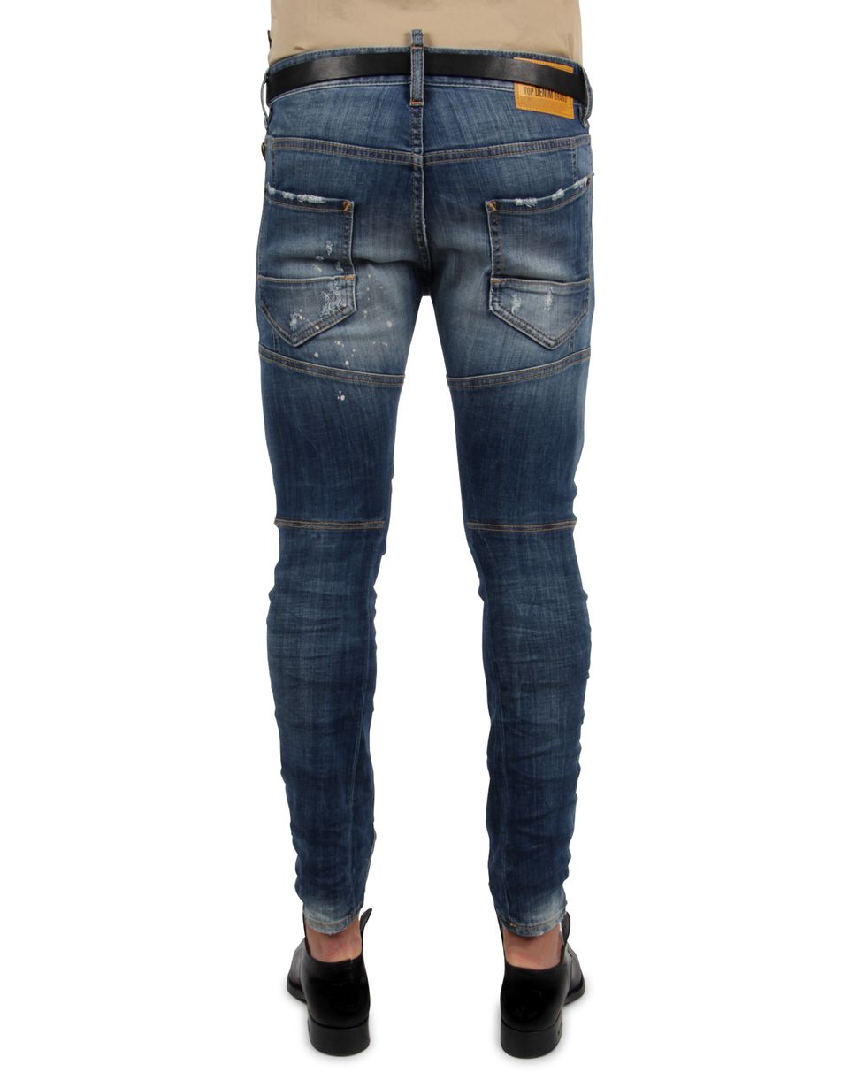 Dsquared2 Tidy Biker Jeans Jeans Men Dsquared2 Online Store