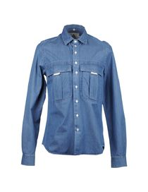 ANDREA POMPILIO - Denim shirt