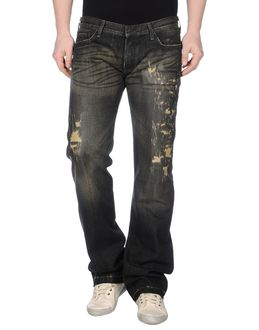 RING BLACK Denim pants $ 248.00