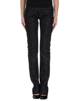RING BLACK Denim pants $ 164.00