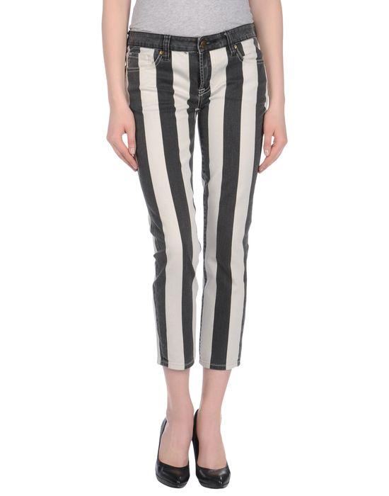GENETIC DENIM Джинсовые брюки-капри