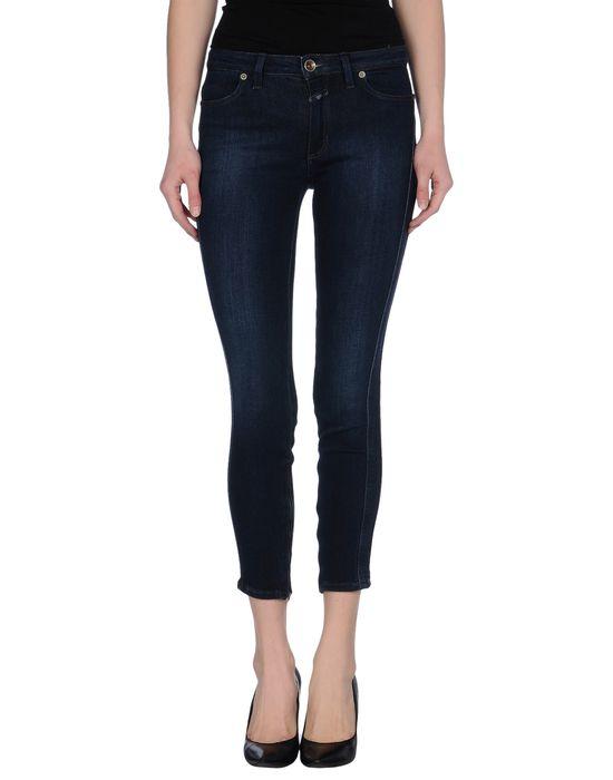Джинсовые брюки-капри CLOSED. Цвет: синий