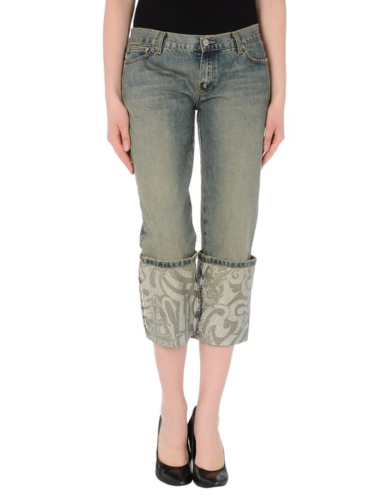 JOHN RICHMOND Джинсовые брюки-капри
