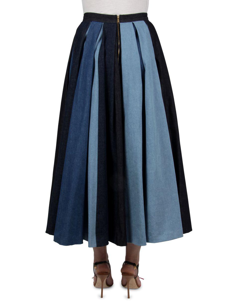 Dsquared2 FLOR 50'S DENIM SKIRT, Denim Skirts Women - Dsquared2 ...