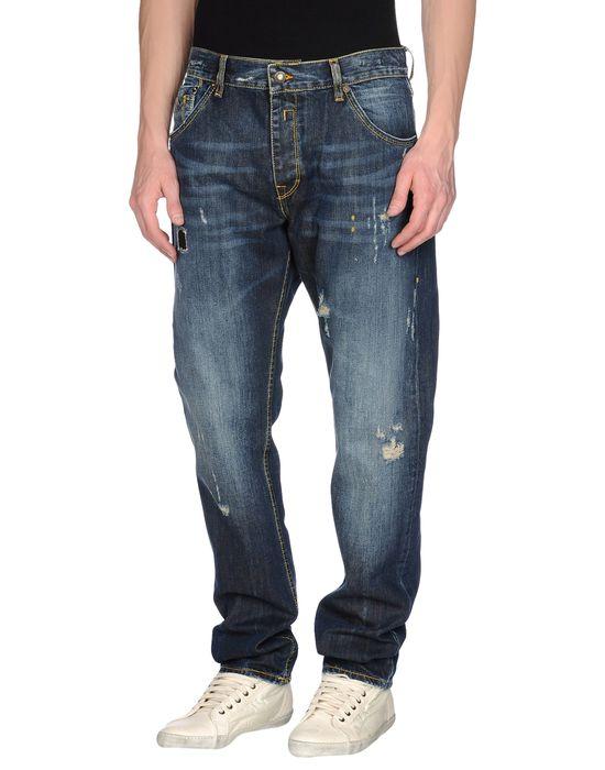 Джинсовые брюки BUCKS & CO. Цвет: синий