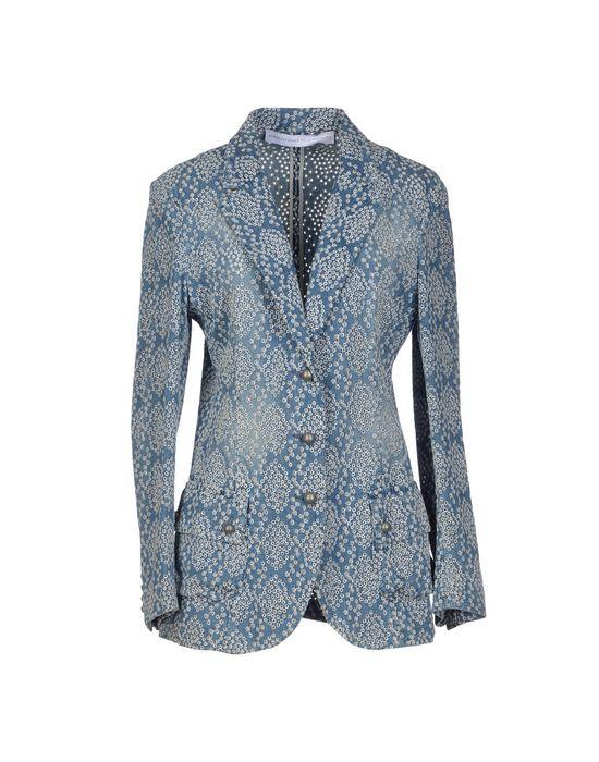 цена  ERMANNO SCERVINO Джинсовая верхняя одежда  онлайн в 2017 году