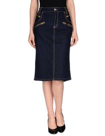 BLUMARINE - Denim skirt