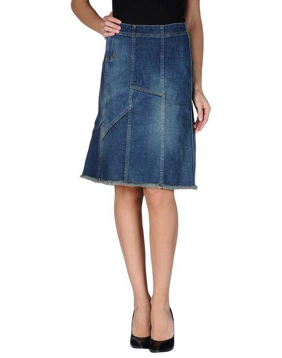 EARL JEAN Джинсовая юбка earl jean джинсовые брюки