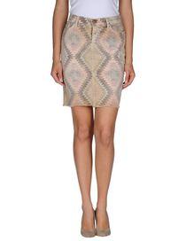 CURRENT/ELLIOTT - Denim skirt