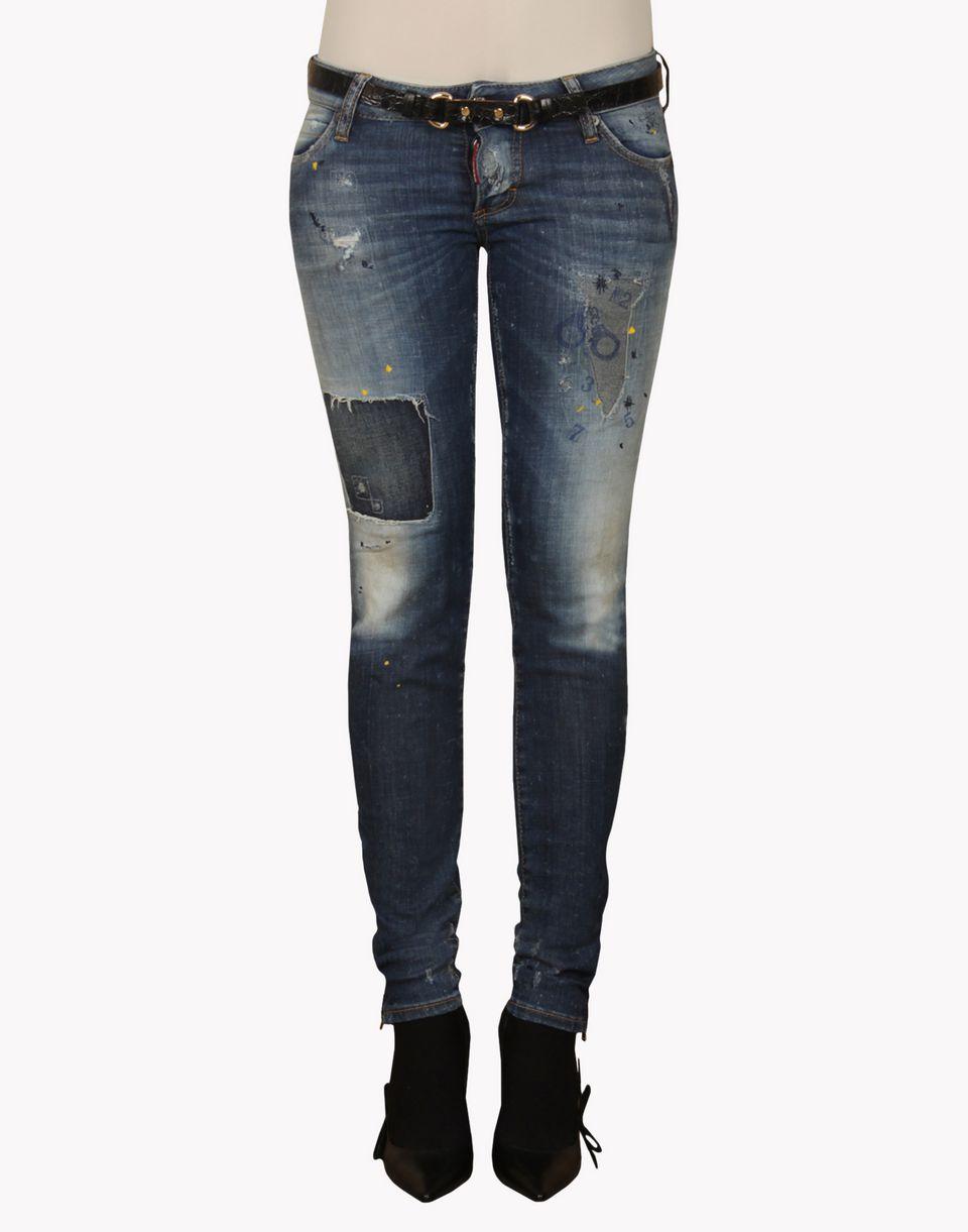 dsquared jeans slim jean dsquared2 uk. Black Bedroom Furniture Sets. Home Design Ideas