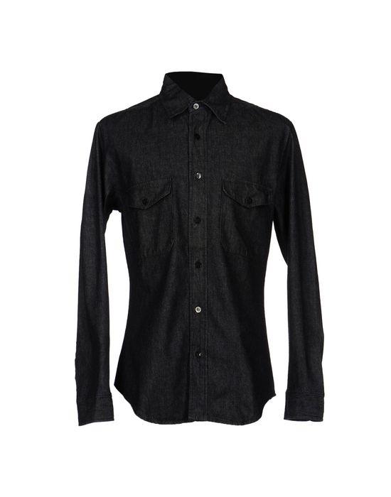 STONE ISLAND DENIMS Джинсовая рубашка