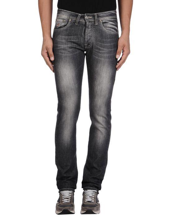 Джинсовые брюки KEVIN UP. Цвет: синий