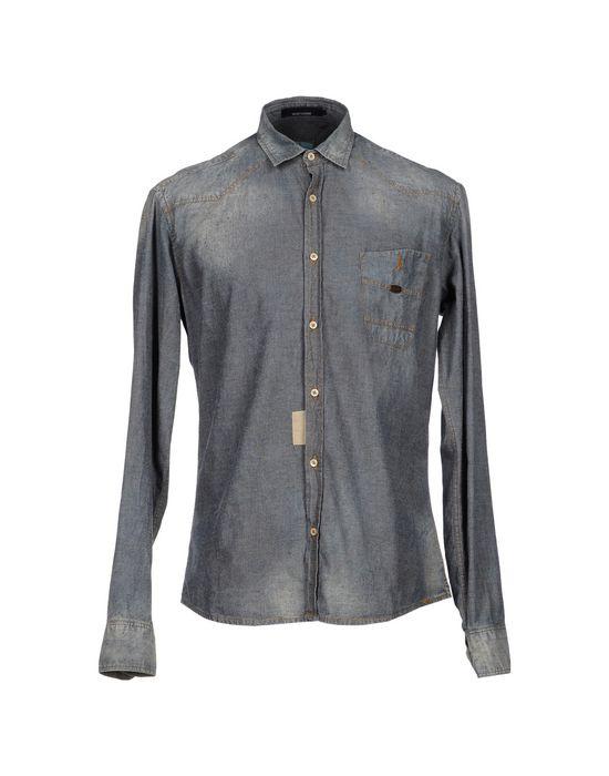 TAKESHY KUROSAWA Джинсовая рубашка Скидки в YOOX.COM  по цене 8500.00 RUB