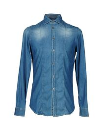 OBVIOUS BASIC by PAOLO PECORA - Denim shirt