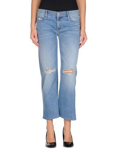 Джинсовые брюки-капри MOTHER 42385776GX