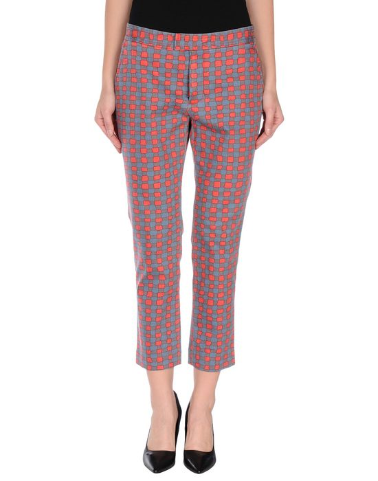Джинсовые брюки-капри MARC BY JACOBS. Цвет: красный