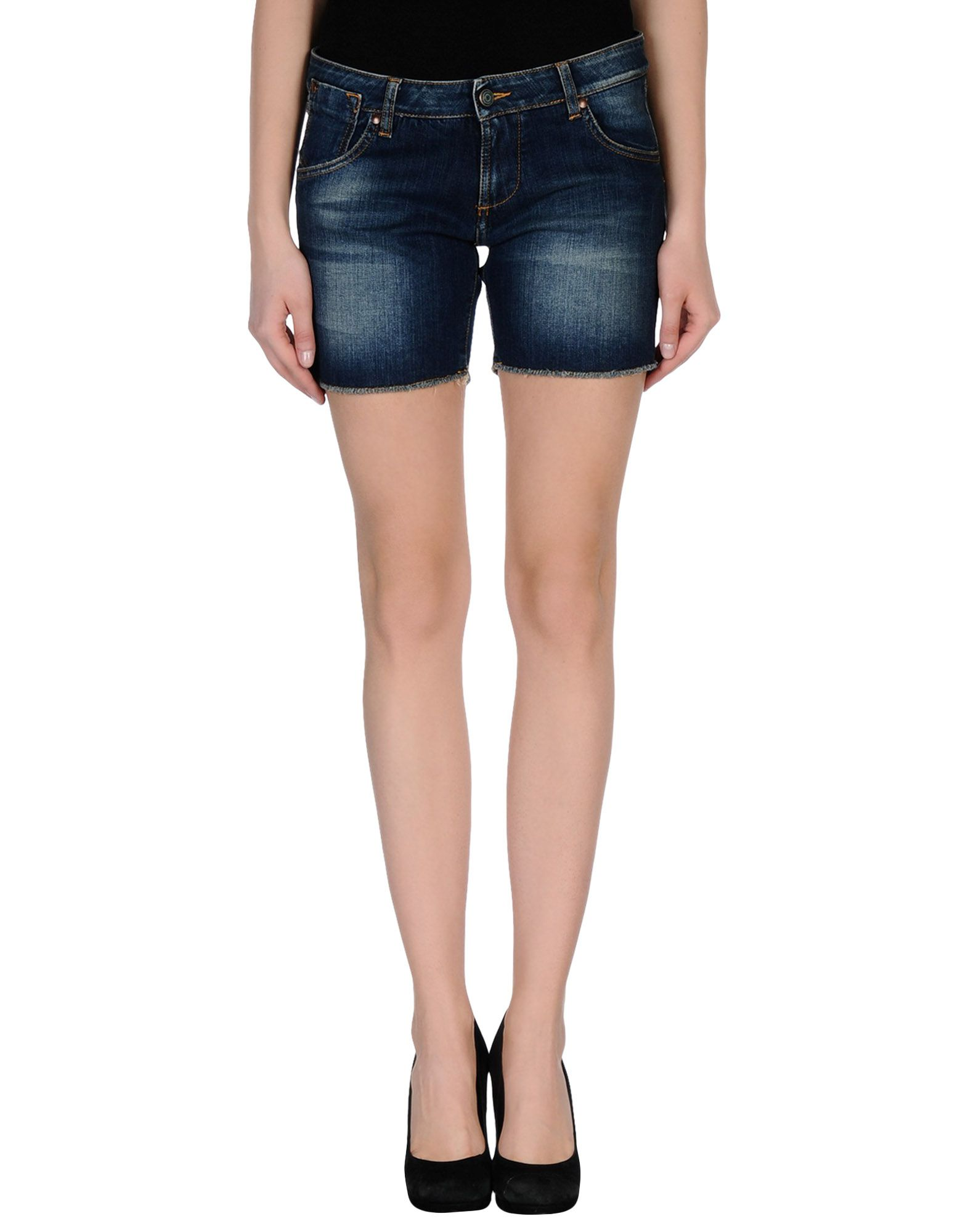 DANIELE ALESSANDRINI Denim shorts