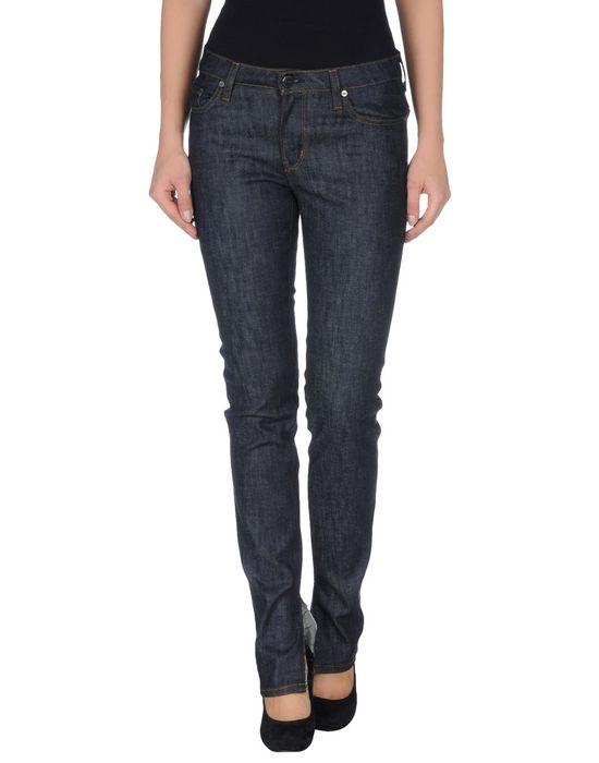 Джинсовые брюки AND. Цвет: синий