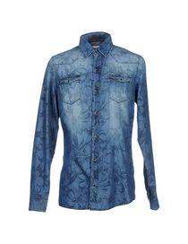 DANIELE ALESSANDRINI HOMME - Denim shirt