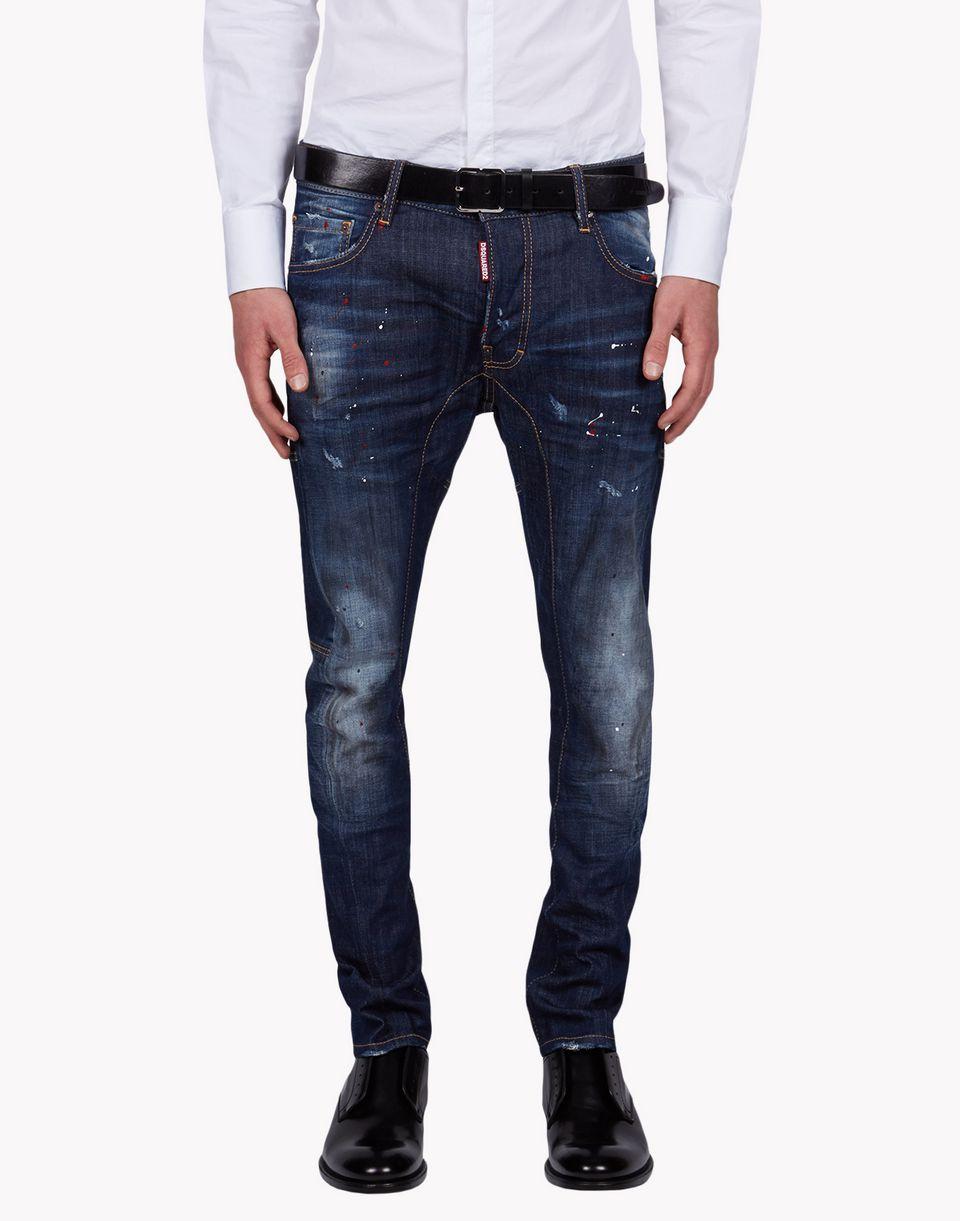 Dsquared2 Tidy Biker Jeans 5 Pockets Men Dsquared2 Online Store