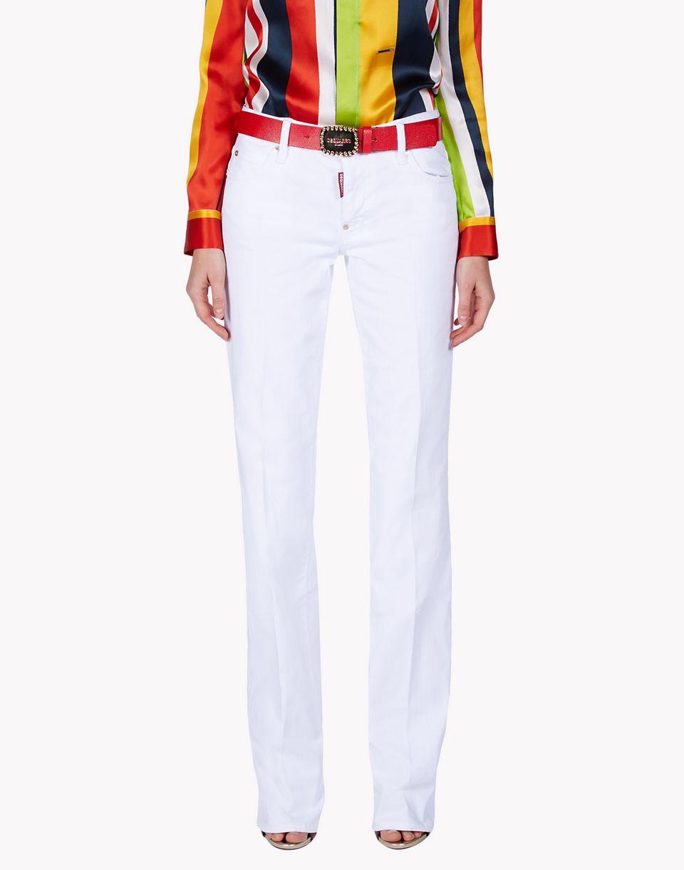 medium waist dalma jeans denim Woman Dsquared2