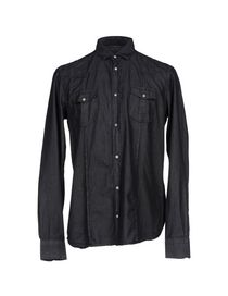 GREY DANIELE ALESSANDRINI - Denim shirt