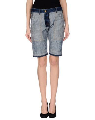Джинсовые брюки-капри CURRENT/ELLIOT + MARNI 42399876LH