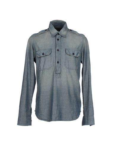 Foto SINGLE Camicia jeans uomo Camicie jeans
