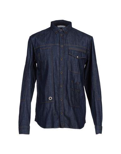 Джинсовая рубашка PIERRE BALMAIN 42405186XM