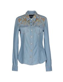 ROBERTO CAVALLI - Denim shirt