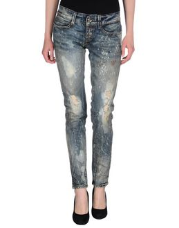 MISS SIXTY LUXURY Denim pants - Item 42414182