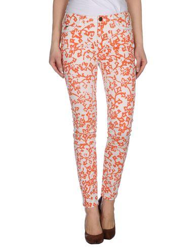 Джинсовые брюки CURRENT/ELLIOTT + DIANE VON FURSTENBERG 42418198LW