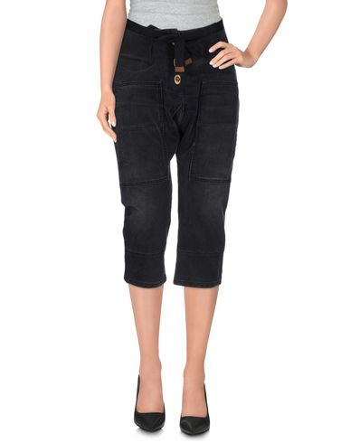 Джинсовые брюки-капри CURRENT/ELLIOT + MARNI 42451223EI