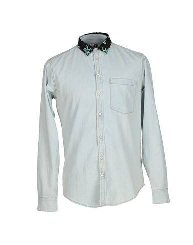Джинсовая рубашка MSGM 42457748LR