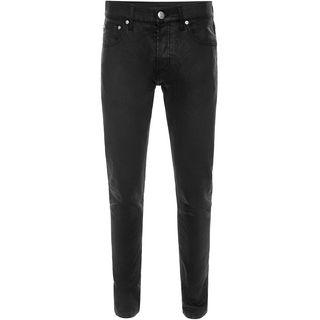 ALEXANDER MCQUEEN, Jeans, Matt Black Denim Jeans