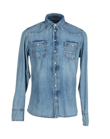 Foto CARE LABEL Camicia jeans uomo Camicie jeans