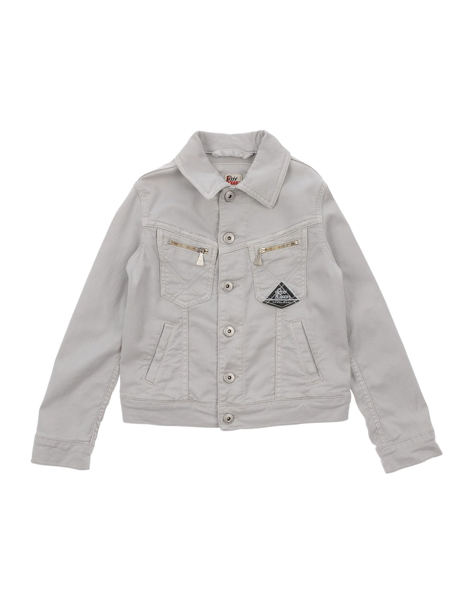 ROŸ ROGER´S Jungen 3-8 jahre Jeansjacke/-mantel Farbe Hellgrau Größe 4