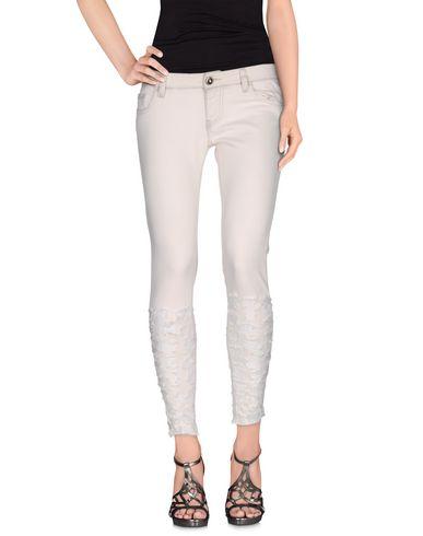 Foto CAROLINA WYSER Pantaloni jeans donna